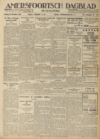 Amersfoortsch Dagblad / De Eemlander 1935-11-26
