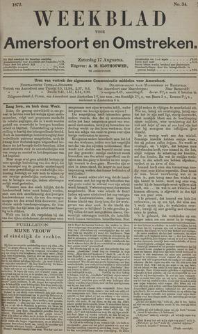 Weekblad voor Amersfoort en Omstreken 1872-08-17