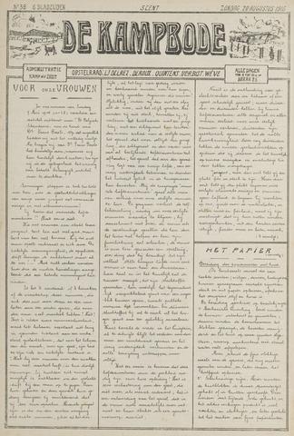De Kampbode 1916-08-20
