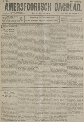 Amersfoortsch Dagblad / De Eemlander 1917-09-26