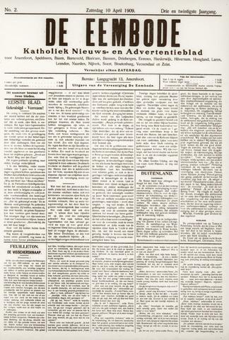 De Eembode 1909-04-10