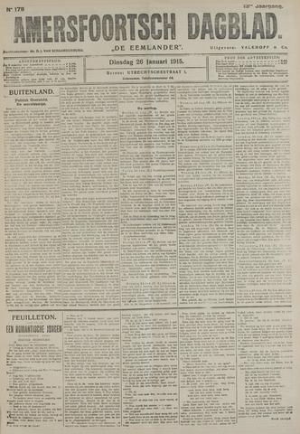 Amersfoortsch Dagblad / De Eemlander 1915-01-26