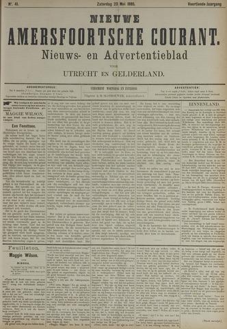 Nieuwe Amersfoortsche Courant 1885-05-23
