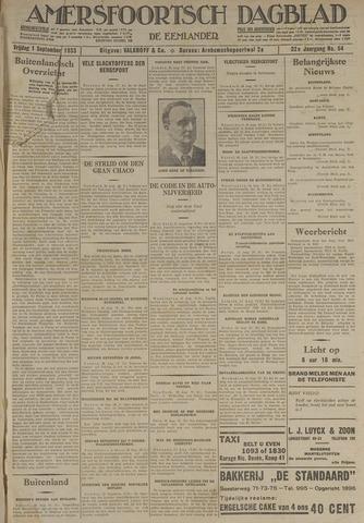 Amersfoortsch Dagblad / De Eemlander 1933-09-01
