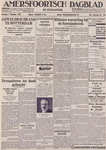 Amersfoortsch Dagblad / De Eemlander 1937-11-01