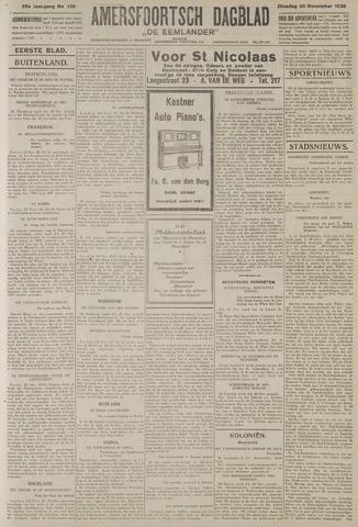 Amersfoortsch Dagblad / De Eemlander 1926-11-30