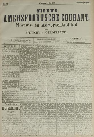 Nieuwe Amersfoortsche Courant 1889-07-24