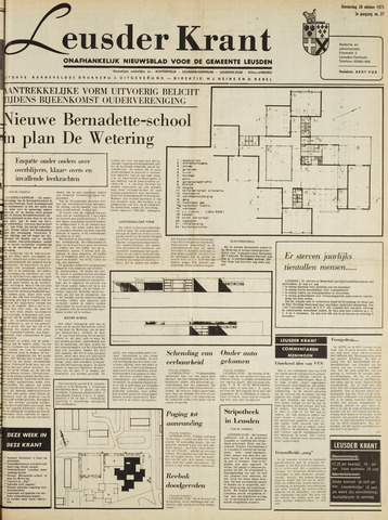 Leusder Krant 1971-10-28