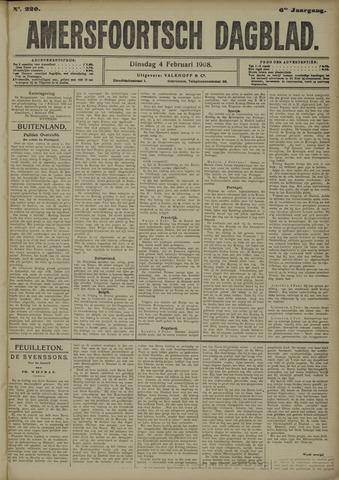 Amersfoortsch Dagblad 1908-02-04