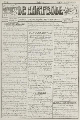 De Kampbode 1916-02-20