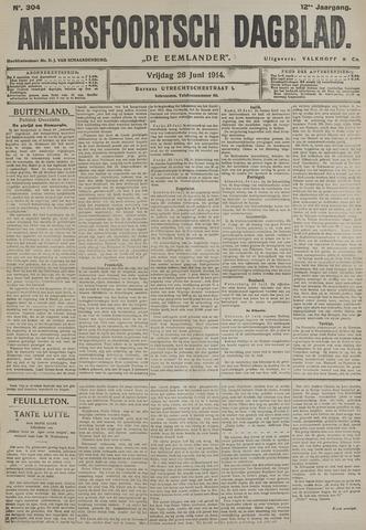 Amersfoortsch Dagblad / De Eemlander 1914-06-26