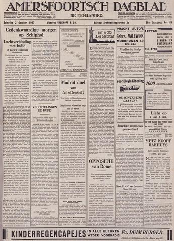 Amersfoortsch Dagblad / De Eemlander 1937-10-02