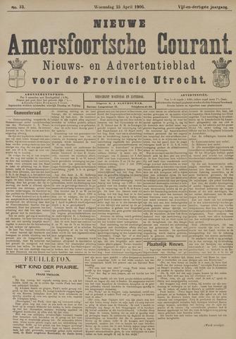 Nieuwe Amersfoortsche Courant 1906-04-25