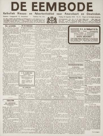 De Eembode 1915-08-20