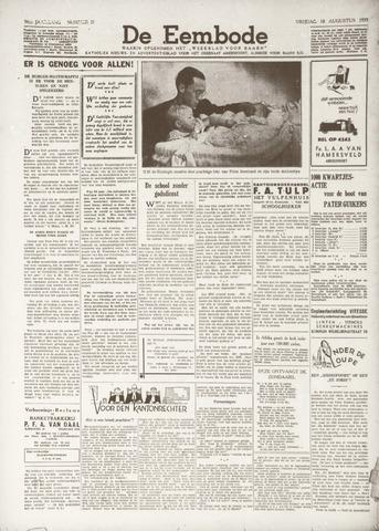 De Eembode 1939-08-18