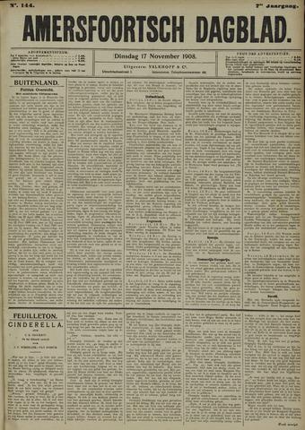 Amersfoortsch Dagblad 1908-11-17