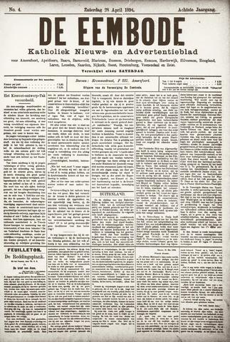 De Eembode 1894-04-28