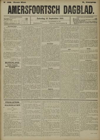 Amersfoortsch Dagblad 1910-09-10