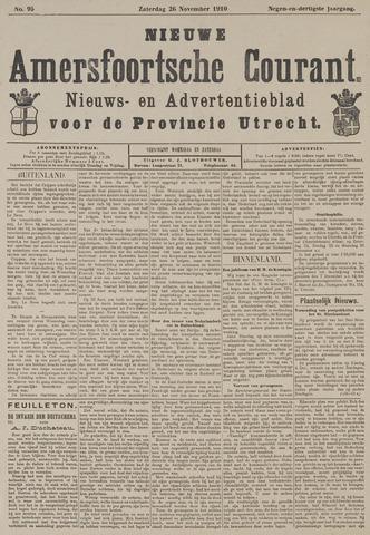 Nieuwe Amersfoortsche Courant 1910-11-26