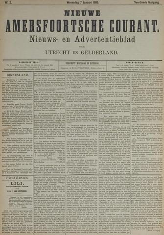 Nieuwe Amersfoortsche Courant 1885-01-07