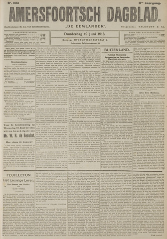 Amersfoortsch Dagblad / De Eemlander 1913-06-19