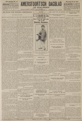 Amersfoortsch Dagblad / De Eemlander 1927-07-25