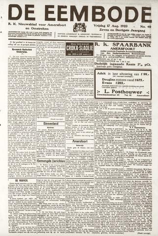 De Eembode 1923-08-17