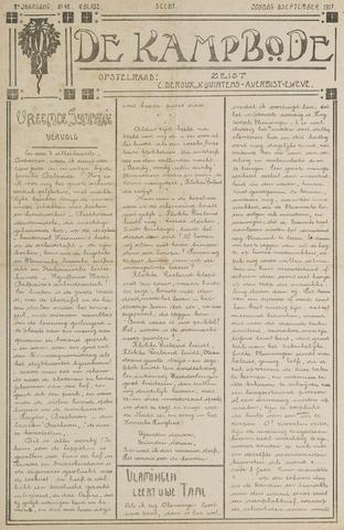 De Kampbode 1917-09-09