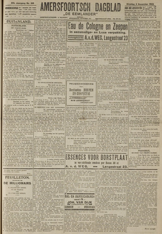 Amersfoortsch Dagblad / De Eemlander 1923-12-04