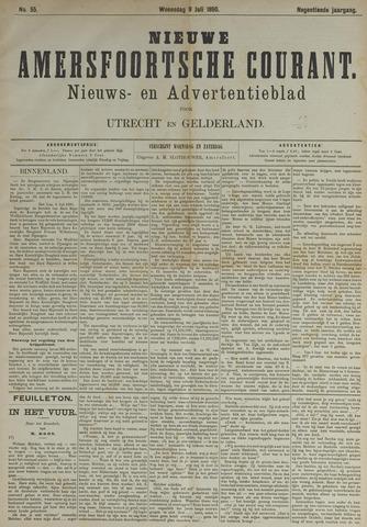 Nieuwe Amersfoortsche Courant 1890-07-09