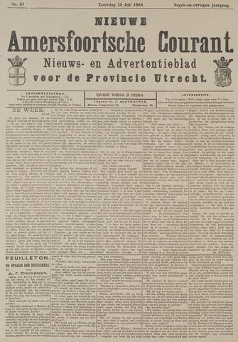 Nieuwe Amersfoortsche Courant 1910-07-30