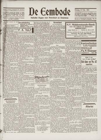 De Eembode 1934-02-20