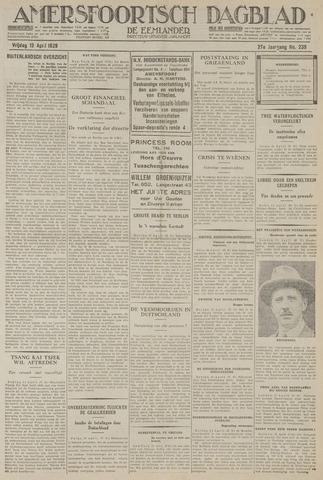 Amersfoortsch Dagblad / De Eemlander 1929-04-12
