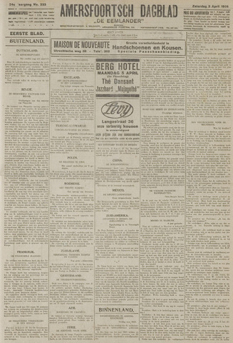 Amersfoortsch Dagblad / De Eemlander 1926-04-03