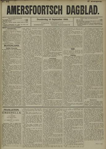 Amersfoortsch Dagblad 1908-09-10