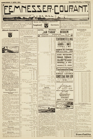 Eemnesser Courant 1924-04-17