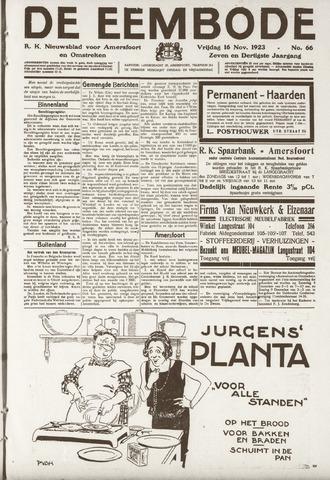 De Eembode 1923-11-16