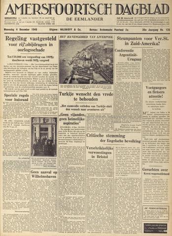 Amersfoortsch Dagblad / De Eemlander 1940-12-04