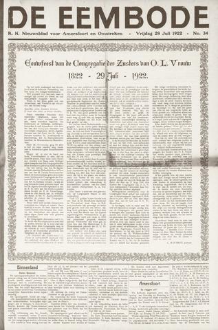 De Eembode 1922-07-28