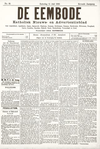De Eembode 1893-07-15
