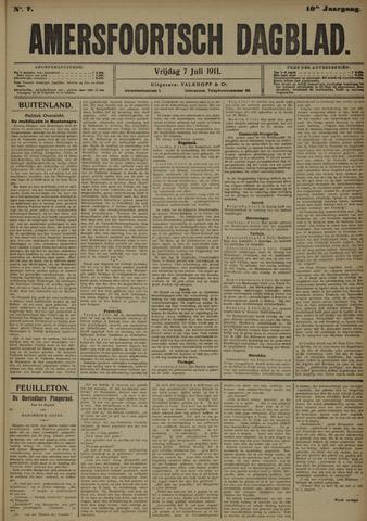 Amersfoortsch Dagblad 1911-07-07