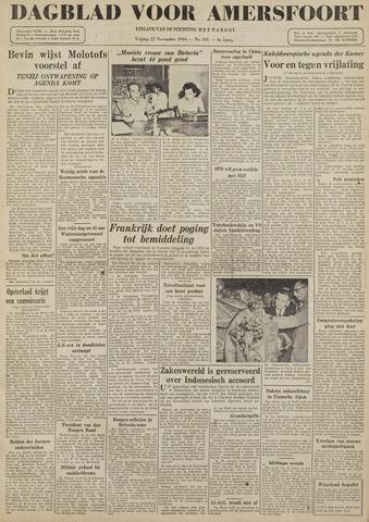 Dagblad voor Amersfoort 1946-11-22