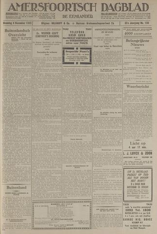 Amersfoortsch Dagblad / De Eemlander 1933-12-04