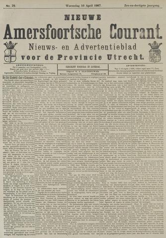 Nieuwe Amersfoortsche Courant 1907-04-10