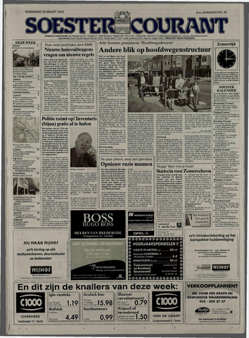 Soester Courant 2003-03-26