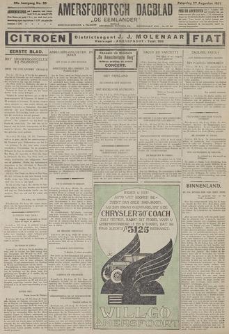 Amersfoortsch Dagblad / De Eemlander 1927-08-27