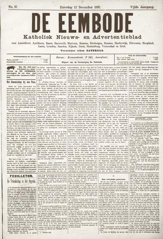 De Eembode 1891-12-12