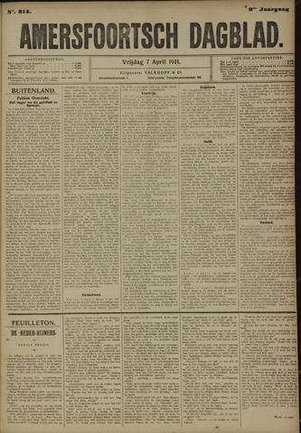 Amersfoortsch Dagblad 1911-04-07
