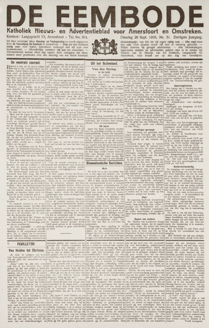 De Eembode 1916-09-26