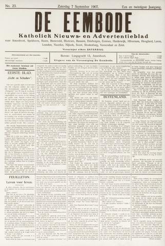 De Eembode 1907-09-07